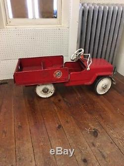 Jeep Vintage Dump Truck Pedal Car