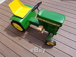 John Deere Vintage Pedal Tractor (70's Era)