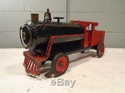 Keystone Ride On Train Vintage 1929-30s Antique Locomotive ALL ORIGINALComplete