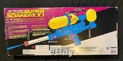 Larami Super Soaker 100 Blue Vintage Water Blaster 1990 New In Box