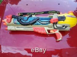 Larami Super Soaker CPS 4100 Vintage 2000 Squirt Gun Cannon Water Tested Works