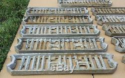 Lot of 11 Vintage AMERICAN Playground Ladder Sliding-board Steps- 1940s