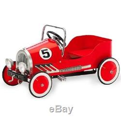 Morgan Cycle Red Steel Pedal Car Vintage Retro Style Ride-on Toy Auth Dealer New