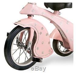 Morgan Cycle Vintage Pink Crystal Retro Tricyle