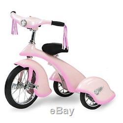 Morgan Cycle Vintage Pink Fairy Retro Tricycle