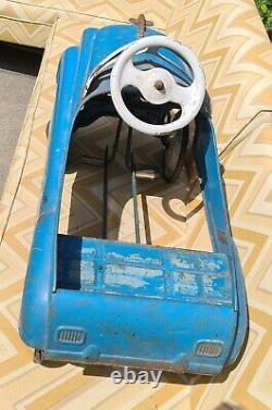 Murray Champion Jet Flow Drive Pressed Steel Vintage Pedal Car 1950's