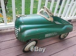 Murray Steel Craft Pontiac Pedal Car, Vintage 40's, 50's. SEE SHIPPING