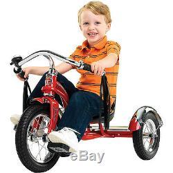 NEW 12 Schwinn Retro Tricycle Roadster Kids Trike Vintage Bike Chrome Bicycle