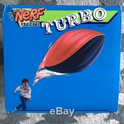 NEW IN BOX Vintage Nerf Turbo Football Parker Brothers Red & Gray 1991 Rare