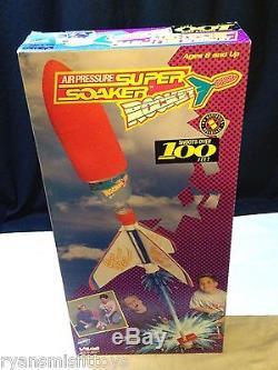 NEW NOS Vintage Larami 1993 AIR PRESSURE Super Soaker ROCKET VERY RARE Toy