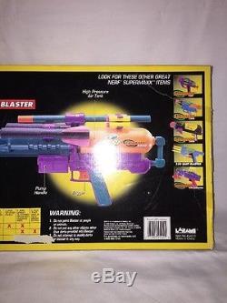 NIB Rare Vintage 90s Nerf Larami SuperMAXX 5000 3-N-1 Blaster Item No. 4542-0