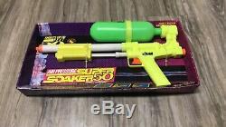 NIB Vintage 1990 Larmi super soaker 50 Water Squirt Toy Gun RARE Collectible