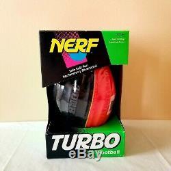 Nerf Turbo Football Ball Vtg New Unused Sealed In Shrink Wrap Nib Misb Rare