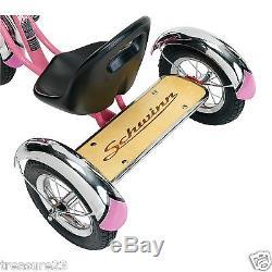 New 12 PINK Retro Tricycle Schwinn Roadster Kids Trike Vintage