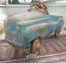 ORGINAL 1950's Murray Pedal Car Dip Side Vintage
