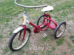 ORIGINAL VINTAGE TRICYCLE 1950'S-60'S amc WITH CHAIN