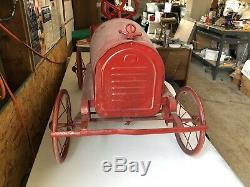 Old Vintage Pedal Car Kids Toy 1920s Oil Gas Auto
