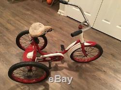 Olson Tricycle-vintage. Original seat and wheels