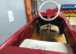 Original Vintage 1964-67 AMF Ford Mustang Pedal Car