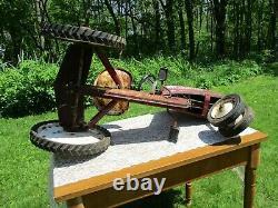 Original Vintage Ca. 1960's Western Flyer Mustang Pedal Tractor