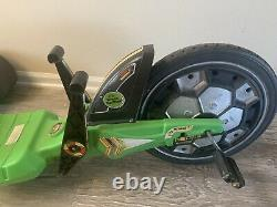 Original Vintage Empire Plastic Green Machine Wheel Tricycle 20 Big Wheel Trike