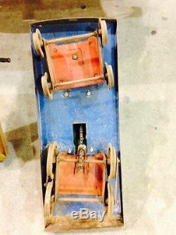 Pair, (2) Of Vintage Doepke Train Engine Yard Bird Pedal Cars 1930's-1940's