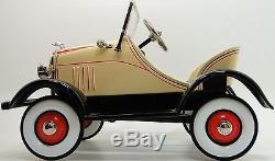 Pedal Car 1929 Ford A Hot T Rod Rare Vintage Show Classic Sport Midget Model