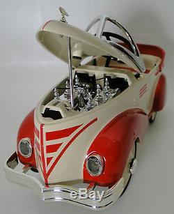 Pedal Car 1940s Ford Hot Rod Rare Vintage Classic A Sport T Midget Metal Model