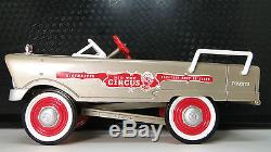 Pedal Car 1950s Plymouth Rare Vintage Metal Collector READ FULL DESCRIPTION PAGE