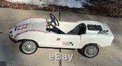 Pedal Car 1960s Chaparral Rare Vintage
