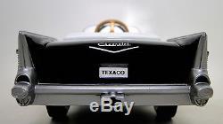 Pedal Car Chevy 1957 Black Vintage Bel Air Metal Hot Rod Sport Midget Model