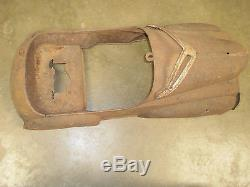 Pedal Car Chrysler Plymouth Windsor 1940s Rare Vintage Classic Midget Show Model