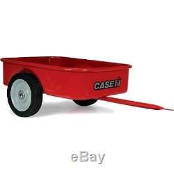 Pedal Tractor Trailer Steel Case Vintage Car/Wagon Red Puma 210 Compatible