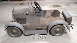 Pedal car, 1928 Packard, Steelcraft, Vintage