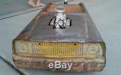 Pedal car stroller vintage custom