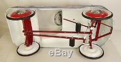 Pepsi Cola 1960's Vintage All Steel Child's Pedal Car-ex. Original Condition