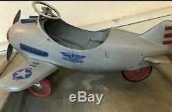 Pursuit Pedal Plane Vintage