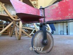 RARE 1926 Gendron Plane Pedal Car Airplane Old Vintage Original Working