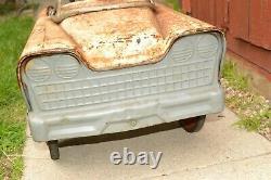 RARE 1960s Vtg ALL ORIGINAL Kids Ride-on APOLLO-7 ASTRONAUT PEDAL CAR Murray