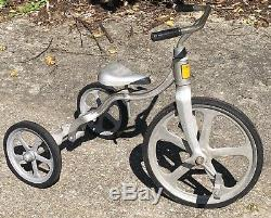 RARE Original VTG CONVERT-O Tricycle Anthony Bros Aluminum Air Flow Bicycle Old