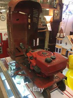 RARE VINTAGE 1950's DOEPKE POPSICLE RED BALL EXPRESS TRAIN 1 of 200 EVER MADE
