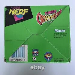 RARE Vintage 1994 Official NERF TURBO CRUSHERS Football Kenner Purple Gold NEW