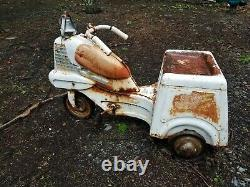 RARE Vintage Murray GOOD HUMOR Ice Cream pedal car Delivery Truck