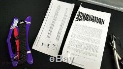 REVOLUTION KITES (USA) Vintage 1992 Revolution 1 EXP Graphite Kite (7' x 30)