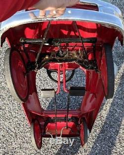 RaRe Murray Buick Roadmaster Comet Torpedo Pedal Car Garage Advertising Sign VTG