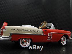Rare 1955 Chevy Pedal Car Vintage BelAir Show Hot Rod Sport Custom Midget Model