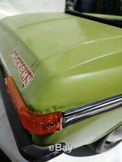 Rare Moskvich Russia Vintage Pedal Car