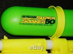 Rare NOS Vtg 1990 Larami Super Soaker 50 Water Squirt Gun Retro Toy New In Box