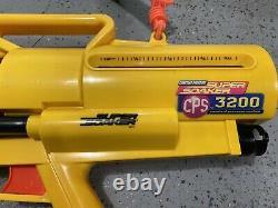 Rare Super Soaker CPS-3200 Water Blaster Gun. Vintage 1997. Untested