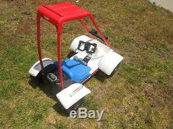 Rare TOMY Honda Odyssey Ride On Toy Baja Beast Vintage 1980's FL350 Fl250 Pilot